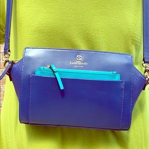 Medium Kate Spade colorful shoulder bag.